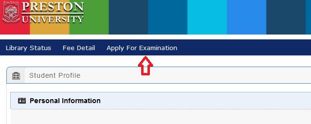 Apply for Exam